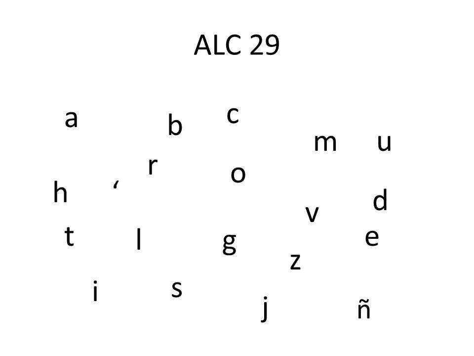 Instrucciones para sopa de letras Construir palabras de las letras. Puedes usar las letras más de una vez. Hay que deletrear las palabras correctament