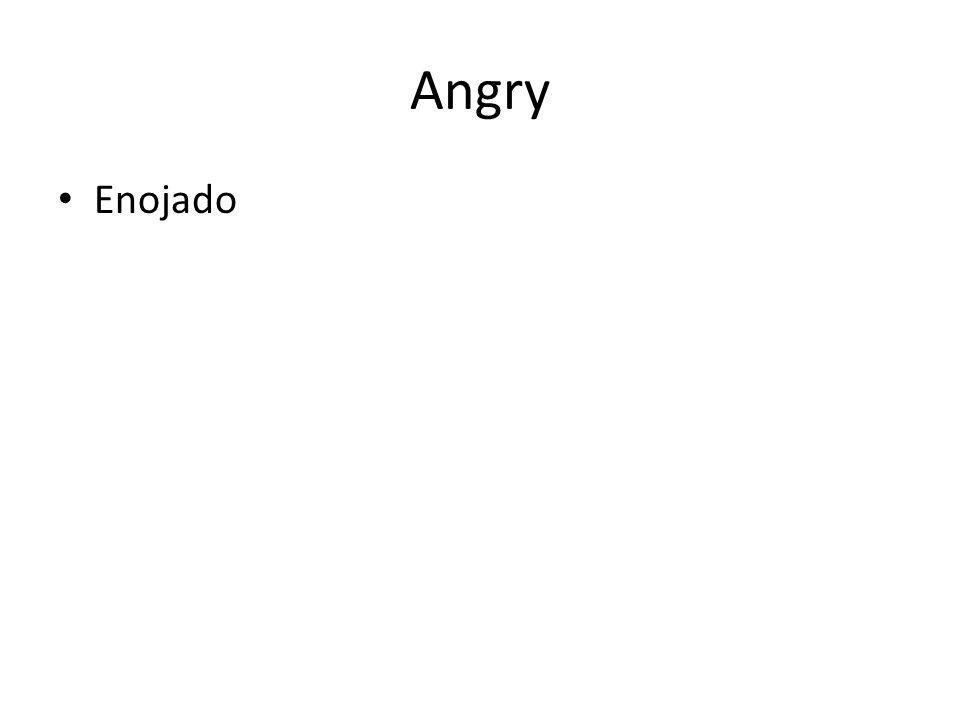 Angry Enojado