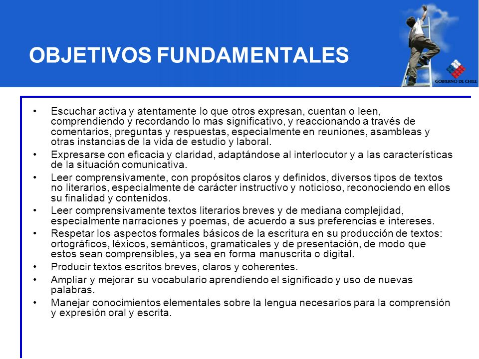 CONTENIDOS MINIMOS OBLIGATORIOS Comunicación oral.