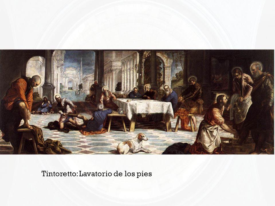 Tintoretto: Lavatorio de los pies
