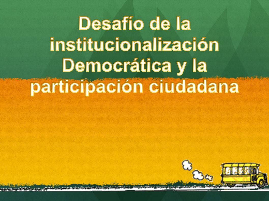 Reforma elctoral Reforma de los partidos políticos Reforma judicial Lucha contra la delincuencia y el crimen organizado Participación ciudadana y bienestar familiar