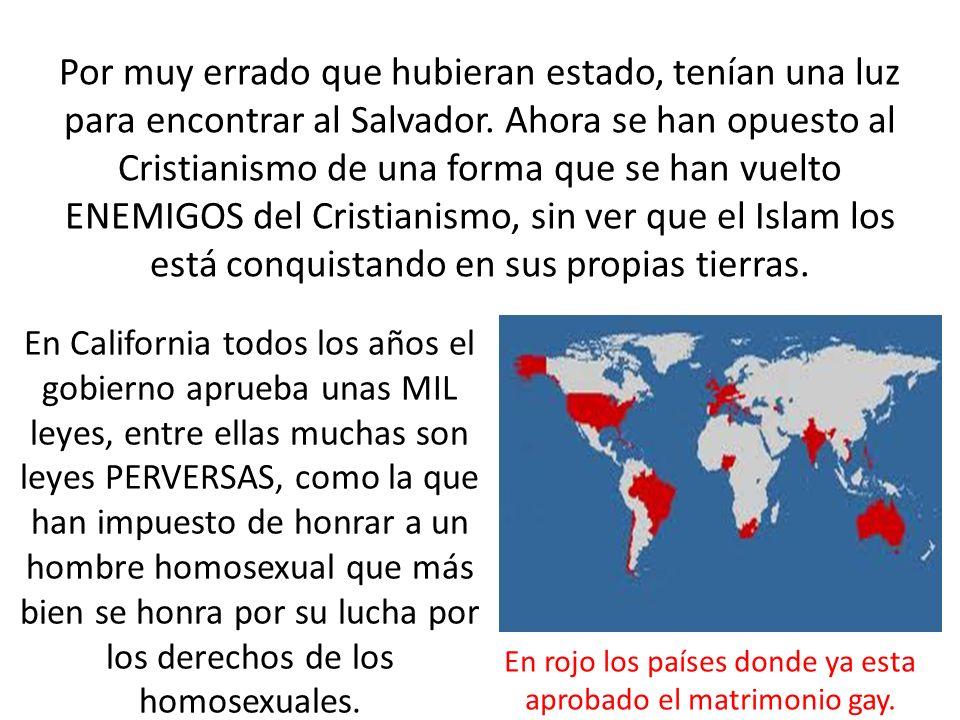 Por muy errado que hubieran estado, tenían una luz para encontrar al Salvador. Ahora se han opuesto al Cristianismo de una forma que se han vuelto ENE