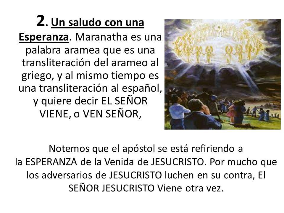 Hay una seriedad en lo que el apóstol dice a aquellos que NO AMAN a JESUCRISTO, y es que al ellos RECHAZAR al Salvador, están bajo maldición.