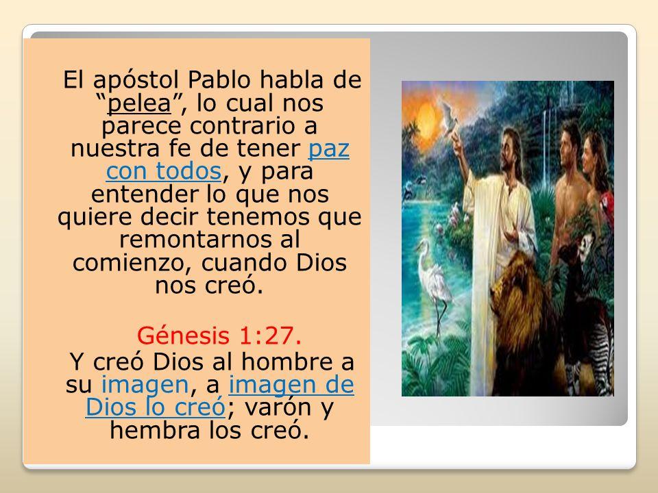 El hombre y la mujer fueron creados idénticos a Dios, se parecían a Dios, ahora, entre los dos también se parecían, porque ambos fueron creados a imagen de Dios.