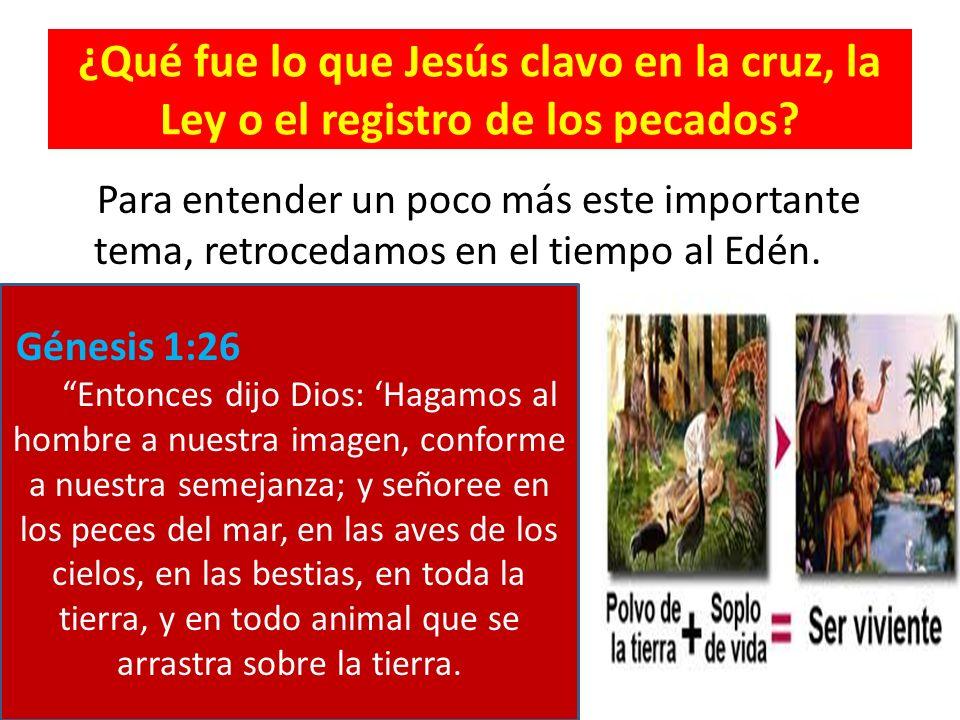 Si Dios creo al hombre a su imagen y semejanza tubo que haberlo creado santo porque Dios es santo (Levítico 11:45).