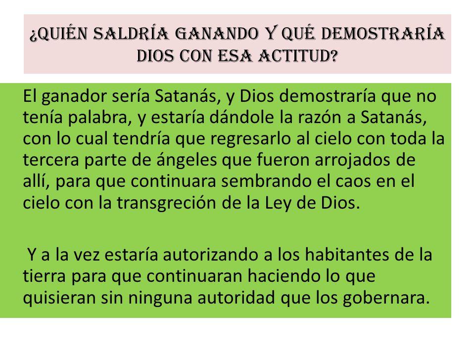 Por tanto, estos seres creados con tanto esmero por las manos de Dios, ya no eran santos, habían desobedecido la orden.
