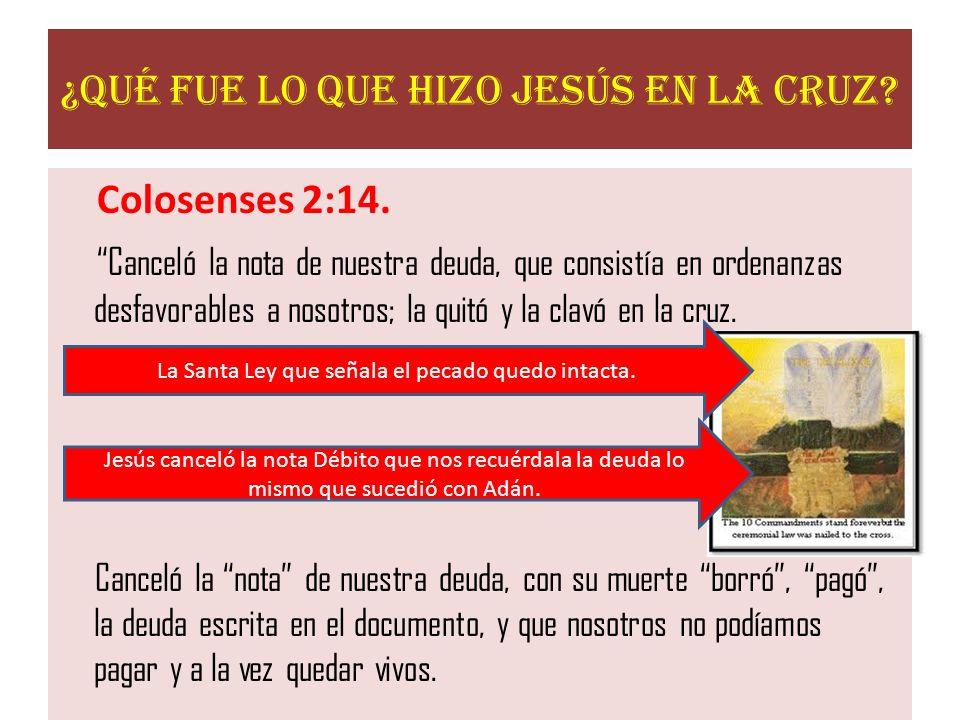 En la versión Católica de la Santa Biblia de Felix Torres Amat aparece este texto así: y cancelada la célula del decreto firmado contra nosotros, que nos era contrario, quitola de en medio, enclavándola en la cruz (Colosense 2:14).