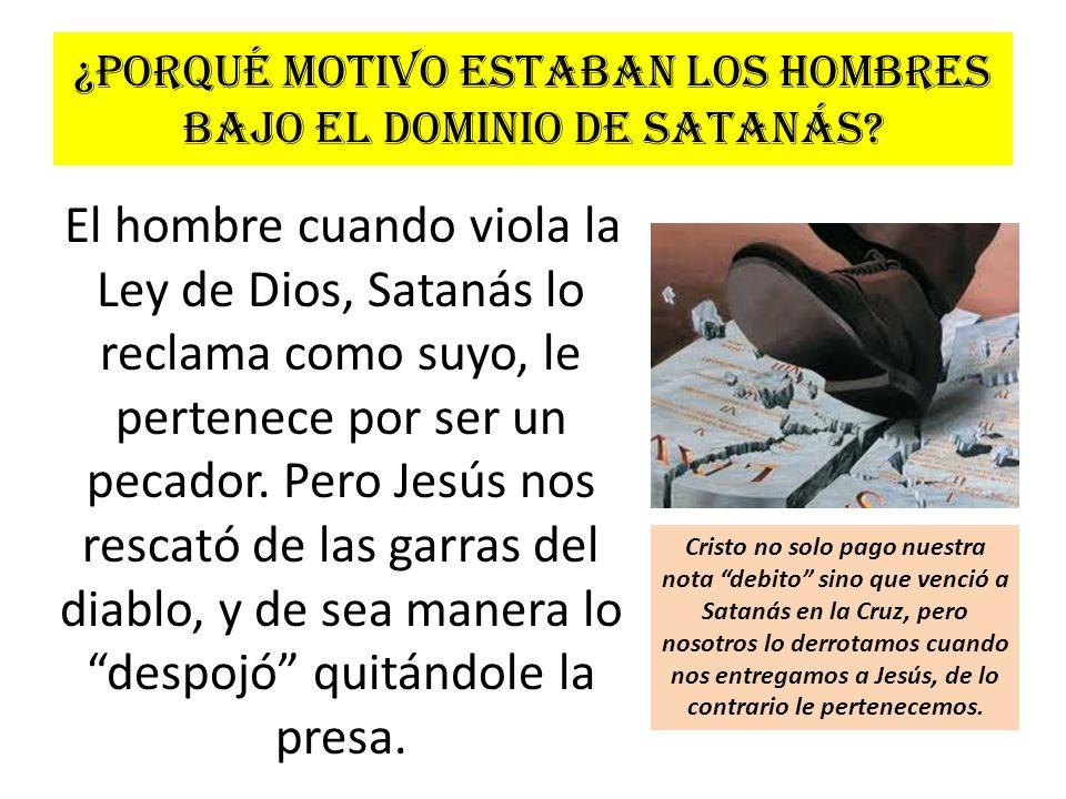 ¿Satanás se da por vencido.