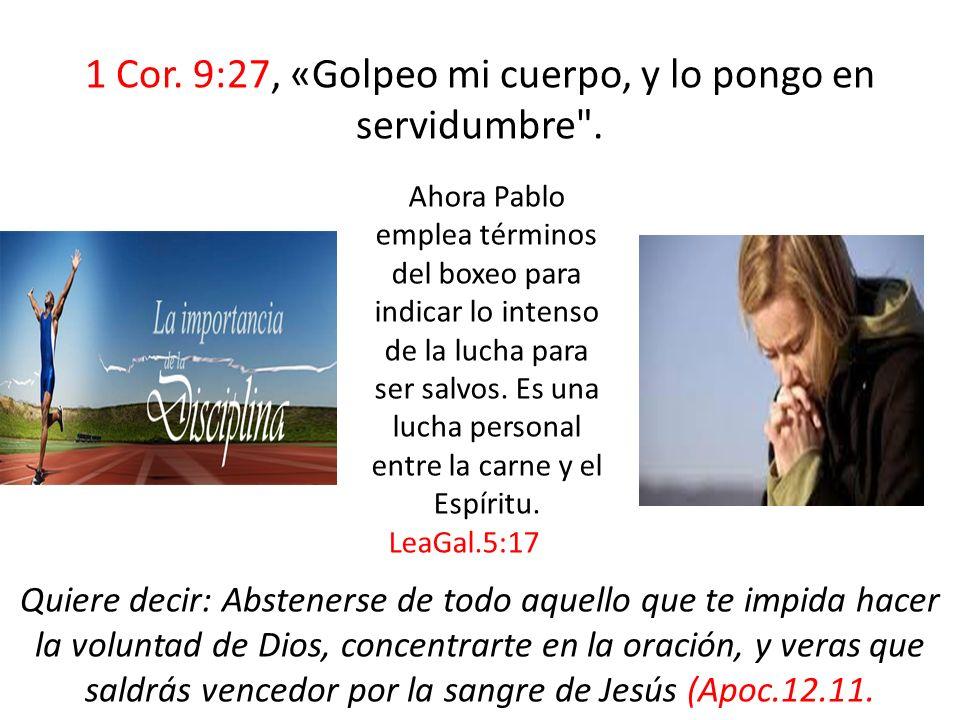1 Ped.4:18. Si el justo con dificultad se salva, ¿en dónde aparecerá el impío y el pecador.