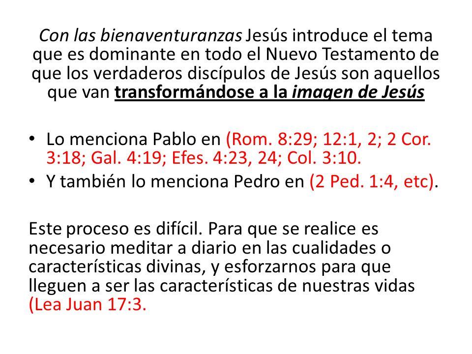¿Cómo es el reino.¿Cómo son los ciudadanos del reino de Dios.