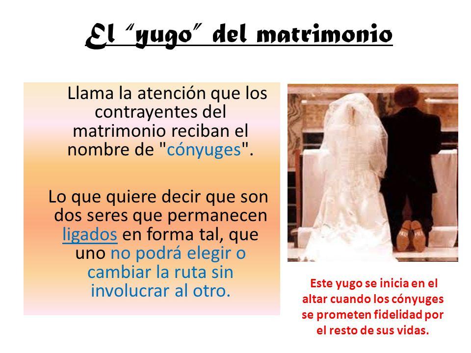 Llama la atención que los contrayentes del matrimonio reciban el nombre de