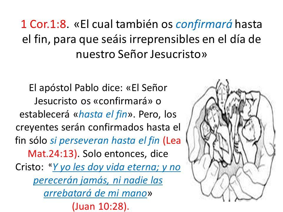 1 Cor.1:8.