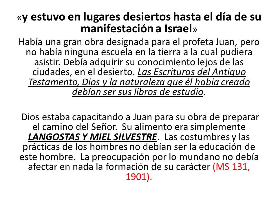 Hay un debate de si Juan ¿Hera vegetariano o no?, note que el texto dice: « comía langostas y miel silvestre » (Mat.3:4; Mar.1:6).
