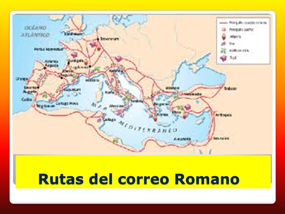 Rutas del correo Romano Rutas del correo Romano
