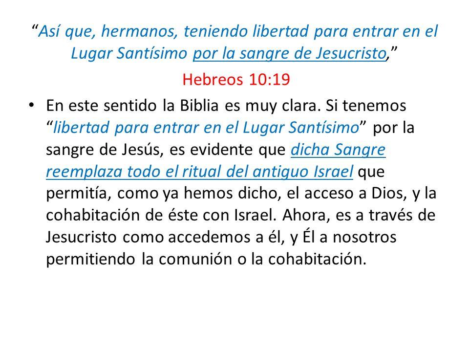 Antiguo TestamentoNuevo Testamento Sacrificios apuntaban a CristoMuerto Cristo ya no se necesitan Se confesaban los pecados al cordero Se confiesan directamente a Cristo