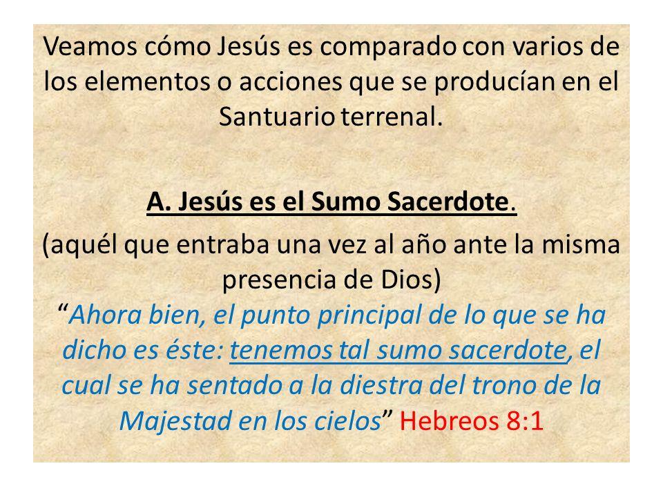 B.Jesús es la sangre redentora.