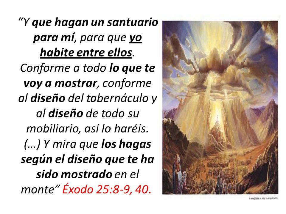 Como vemos, Dios es el diseñador del Tabernáculo.