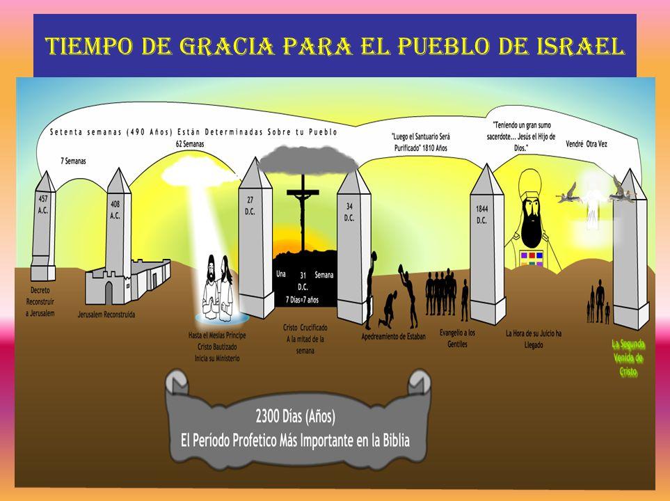 Tiempo de gracia para el pueblo de Israel