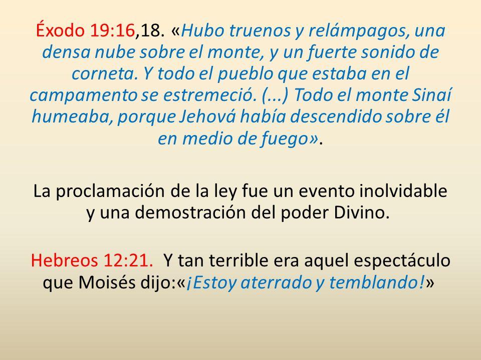 Éxodo 34:28.En las tablas [Jehová] escribió las palabras del pacto: los Diez Mandamientos.