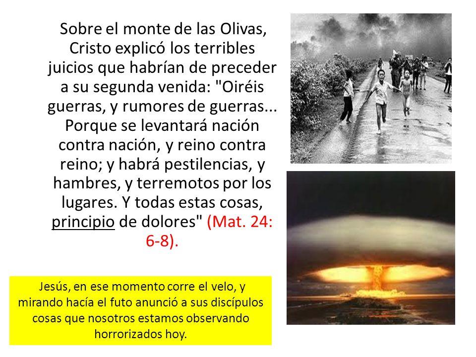 Muy pronto la maldad del mundo habrá llegado a su límite como en los días de Noé, Dios derramará sus juicios.