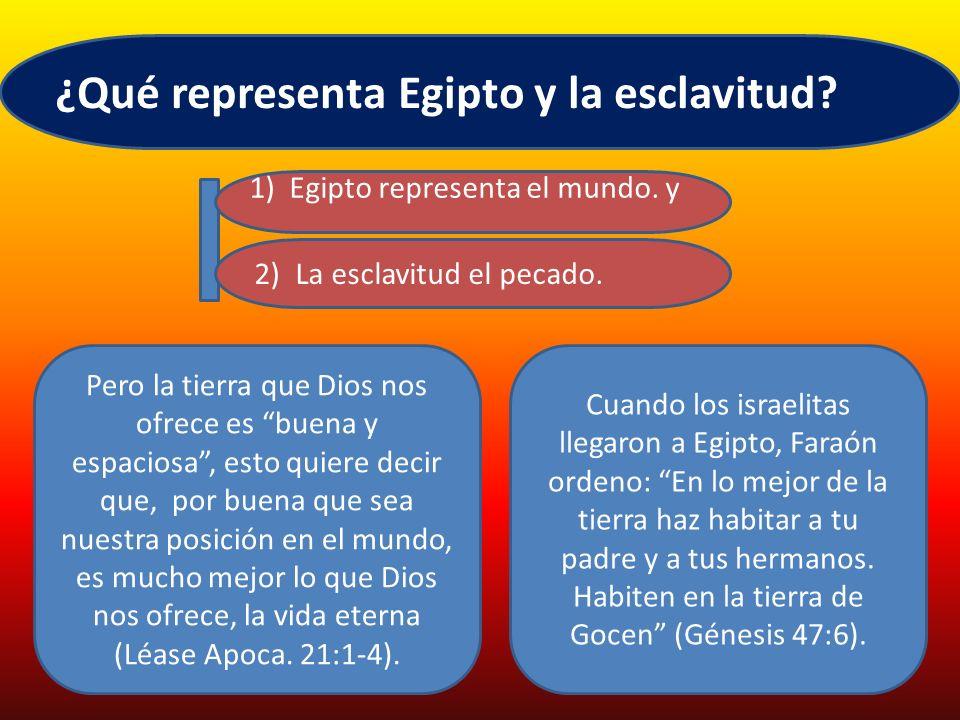 El Señor le ordenó a Moisés en Éxodo 21:1. Estas son las leyes que les propondrás: Miremos algunas