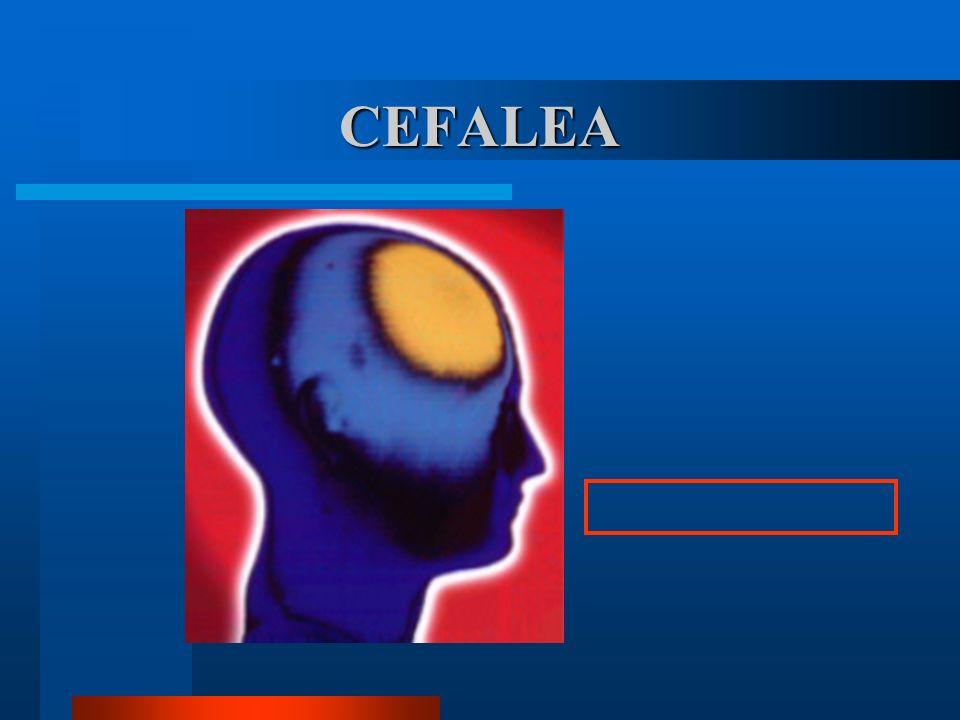 La cefalea es el dolor más común en los humanos Hasta el 90% de las personas han sufrido en alguna ocasión dolor de cabeza.