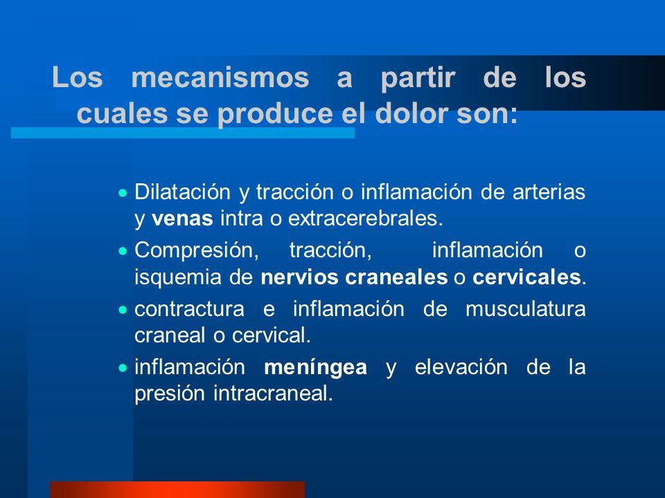 Manifestaciones clínicas de alarma Cefalea intensa de inicio agudo (sobre todo en mayores de 40 años).