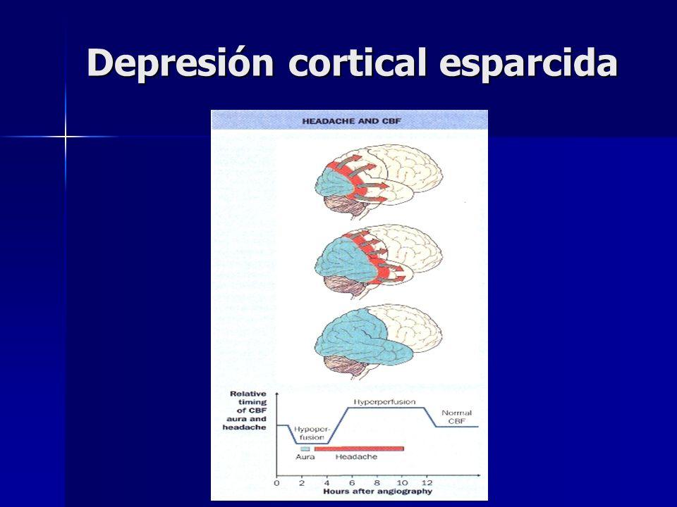 Depresión cortical esparcida