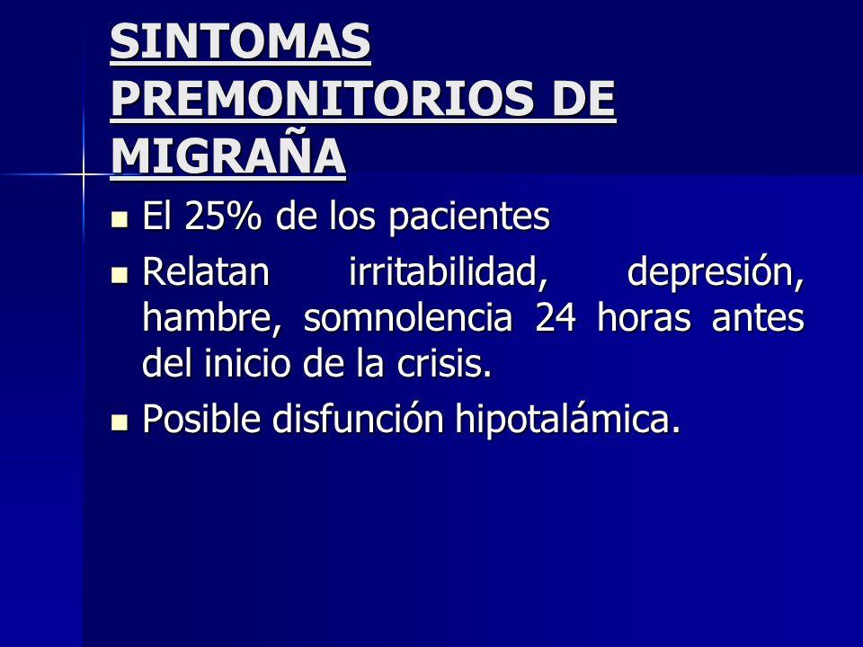 Objetivos de la terapia preventiva en migraña 1)Reducir la frecuencia, intensidad e incapacidad producida por las crisis migrañosas.