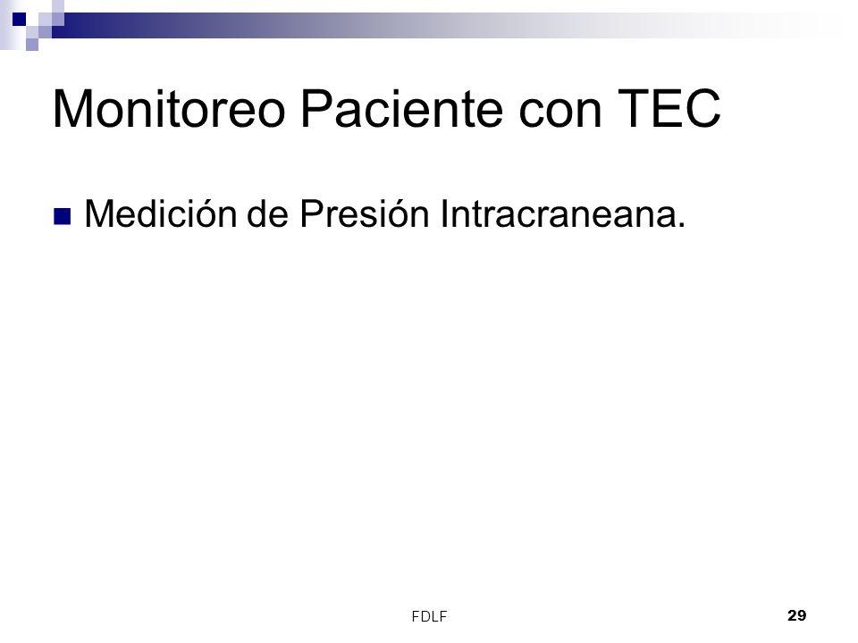 FDLF29 Monitoreo Paciente con TEC Medición de Presión Intracraneana.