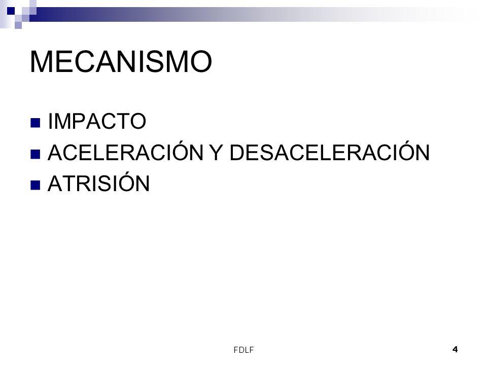 FDLF4 MECANISMO IMPACTO ACELERACIÓN Y DESACELERACIÓN ATRISIÓN