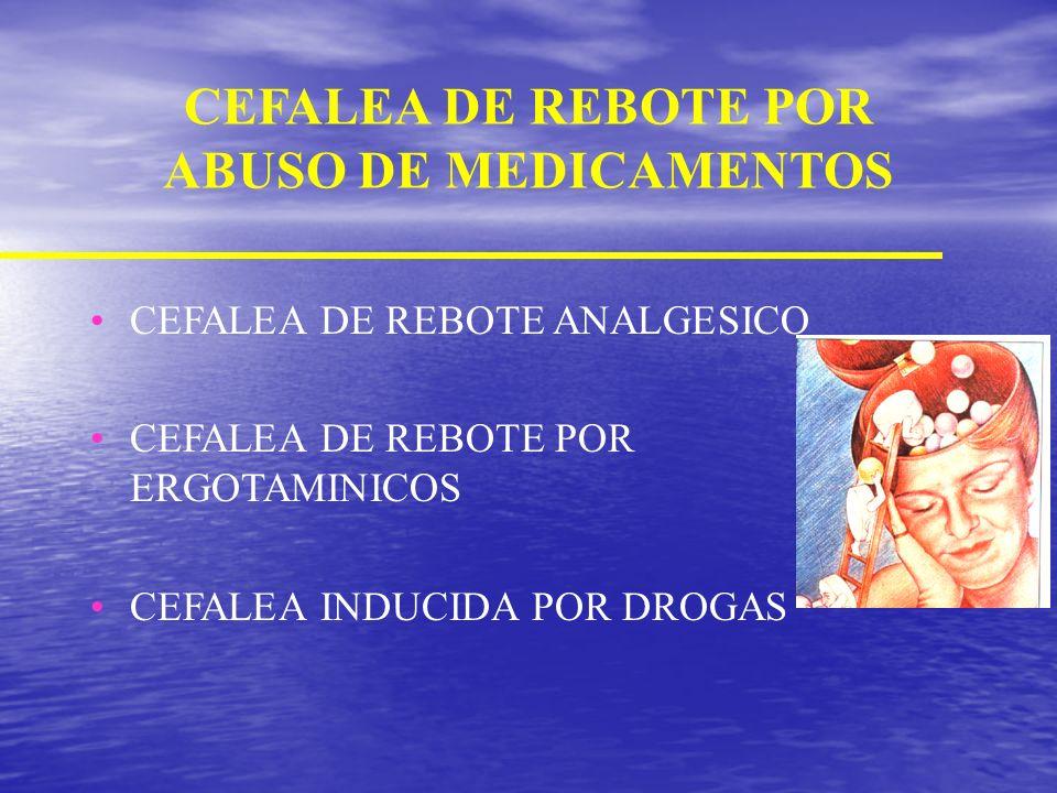 Tratamiento Profiláctico AGENTES FARMACOLOGICOS BLOQUEADORES DE CALCIO ANTAGONISTAS 5HT2 OTROS BETA BLOQUEADORES NO SELECTIVO PROPANOLOL TIMOLOL NADOL
