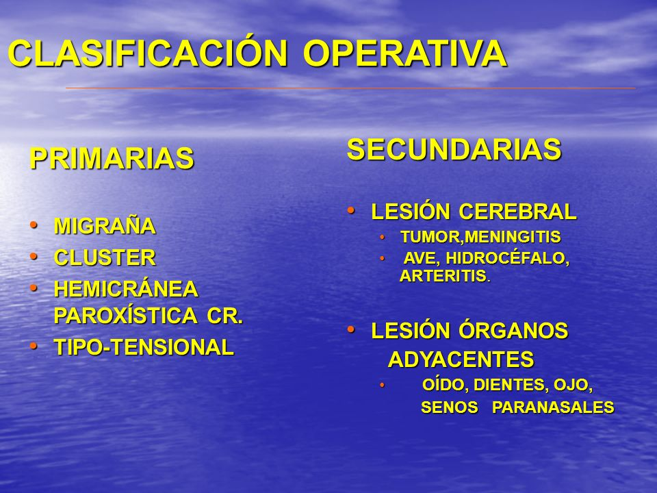 Migraña. Cefalea tipo tensional. Cefalea por abuso. Diagnóstico y tratamiento Prof. Dr. Nelson Barrientos Uribe