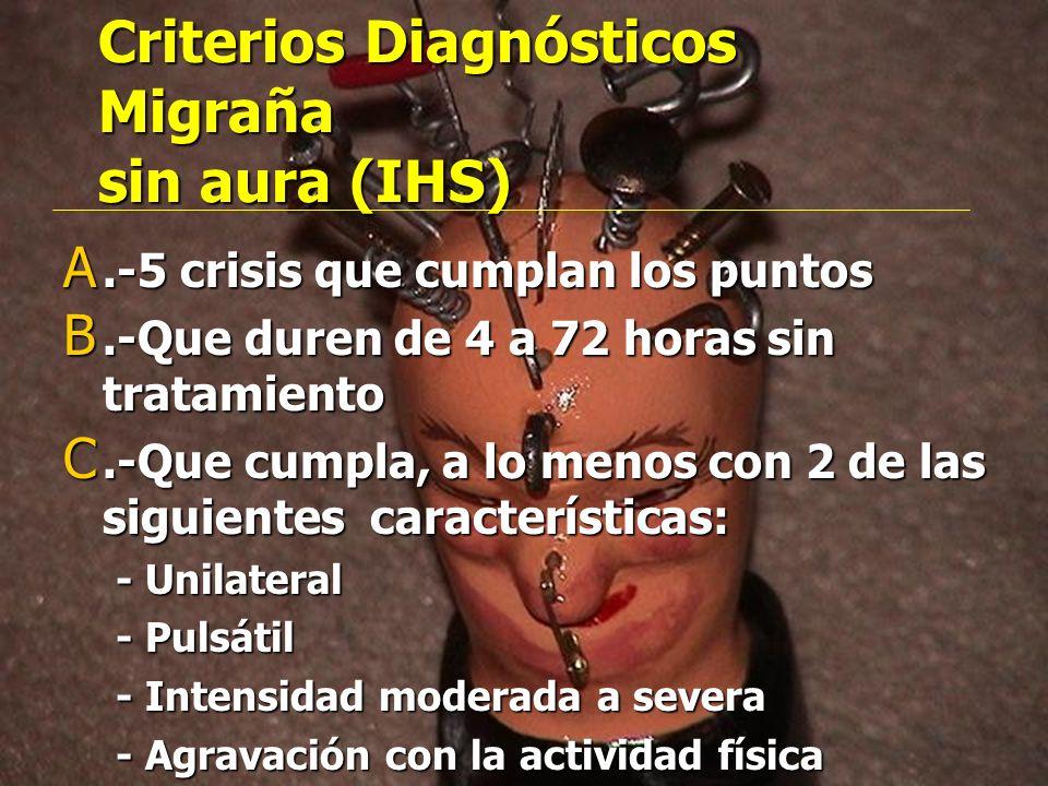 CLASIFICACIÓN OPERATIVA PRIMARIAS MIGRAÑA MIGRAÑA CLUSTER CLUSTER HEMICRÁNEA PAROXÍSTICA CR. HEMICRÁNEA PAROXÍSTICA CR. TIPO-TENSIONAL TIPO-TENSIONAL