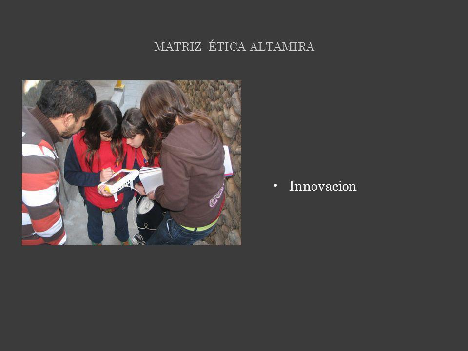 MATRIZ ÉTICA ALTAMIRA Innovacion