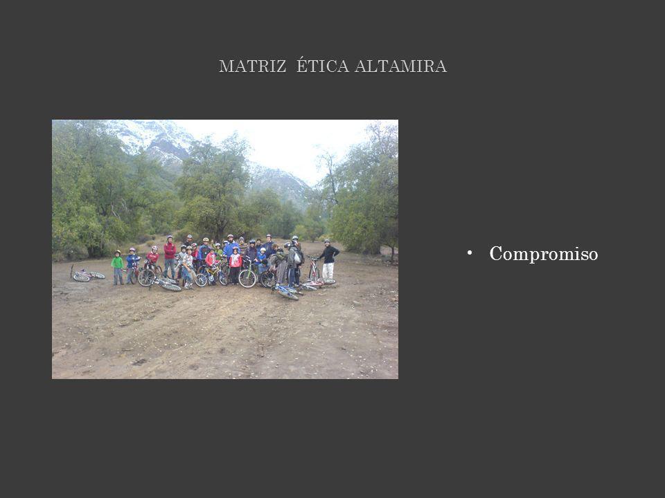 MATRIZ ÉTICA ALTAMIRA Compromiso