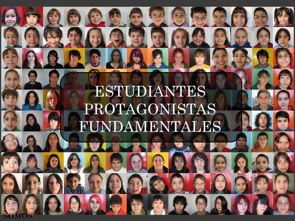 SOMOS ESTUDIANTES PROTAGONISTAS FUNDAMENTALES
