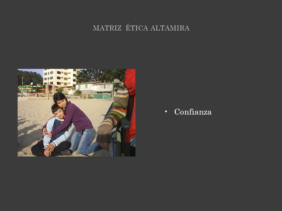 MATRIZ ÉTICA ALTAMIRA Confianza