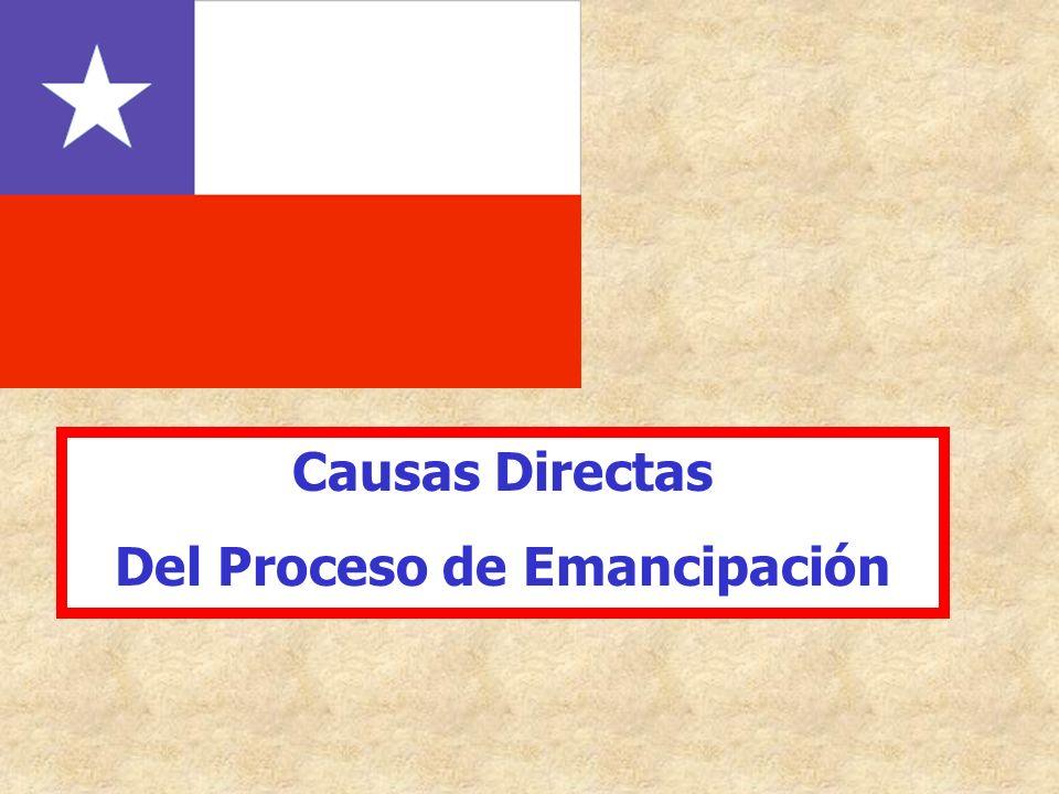 Causas Directas Del Proceso de Emancipación