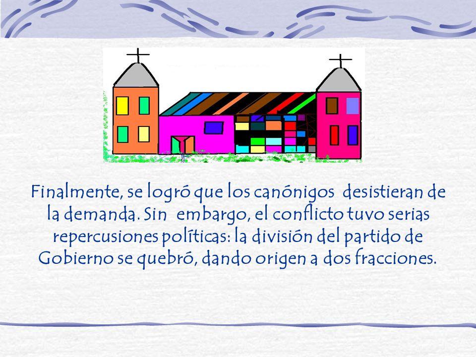 Nacionales o Monttvaristas: § Grupo que defendió el principio de autoridad y la subordinación de la Iglesia al Estado.