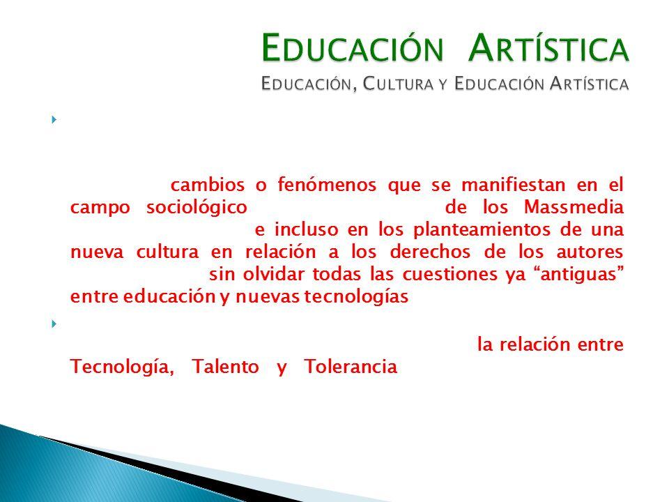 Tampoco podemos dejar de considerar las cuestiones relativas a las problemáticas que la Globalización y la Cultura Digital plantean al ámbito a estudiar; ambas cuestiones nos refieren a cambios o fenómenos que se manifiestan en el campo sociológico (CASTELLS 2005), de los Massmedia (MATELARTT 2002) e incluso en los planteamientos de una nueva cultura en relación a los derechos de los autores (LESSIG 2005); sin olvidar todas las cuestiones ya antiguas entre educación y nuevas tecnologías (PAPERT 1995).