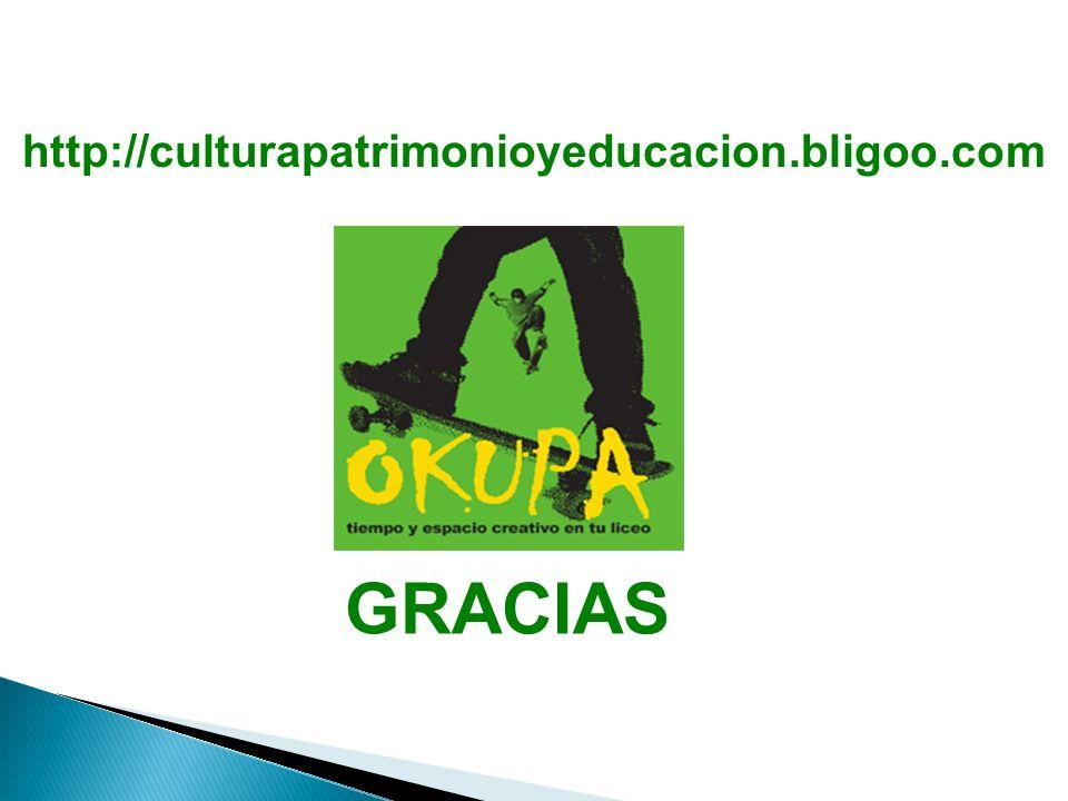 GRACIAS http://culturapatrimonioyeducacion.bligoo.com