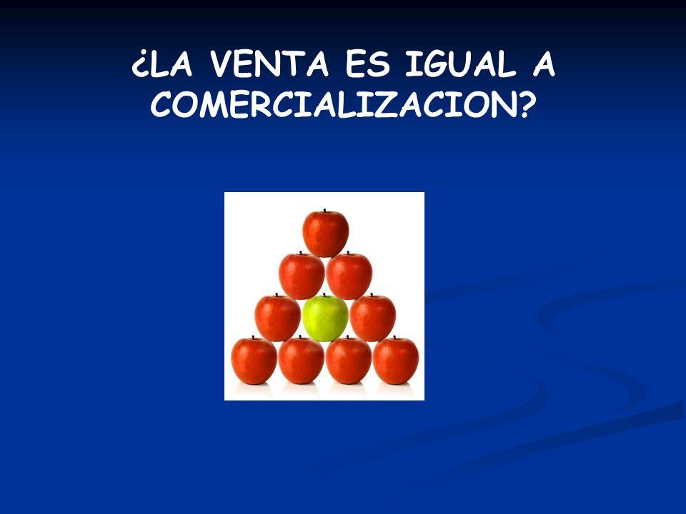 DIFERENCIA ENTRE ORIENTACION A LAS VENTAS Y A LA COMERCIALIZACION VENTASCOMERCIALIZACION 1.