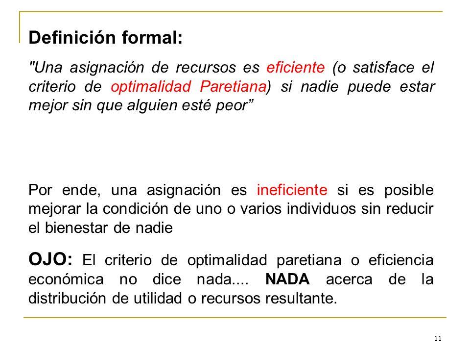 11 Definición formal:
