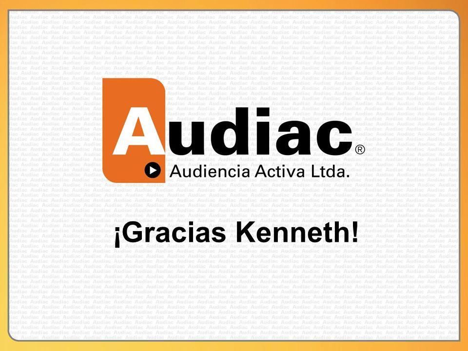 ¡Gracias Kenneth!