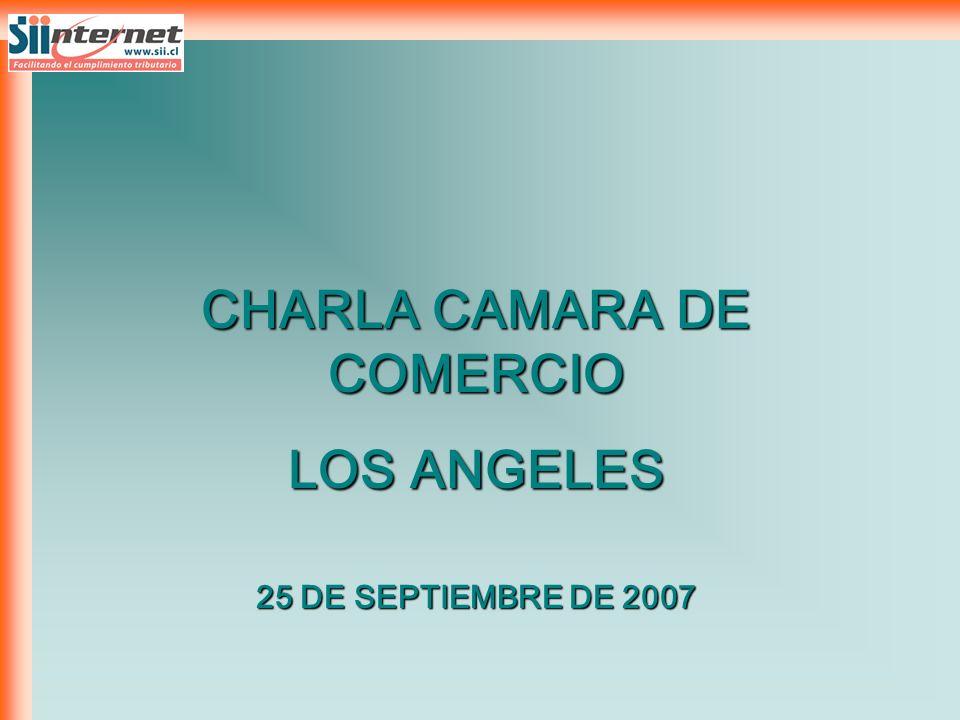 CHARLA CAMARA DE COMERCIO LOS ANGELES 25 DE SEPTIEMBRE DE 2007