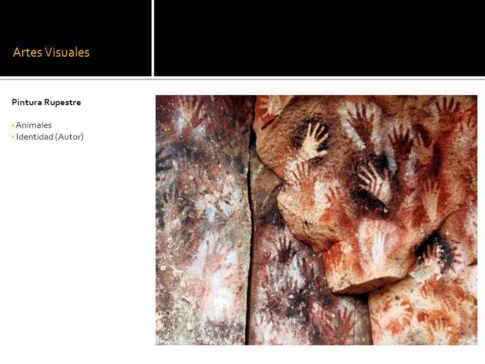 Artes Visuales Pintura Rupestre Animales Identidad (Autor)