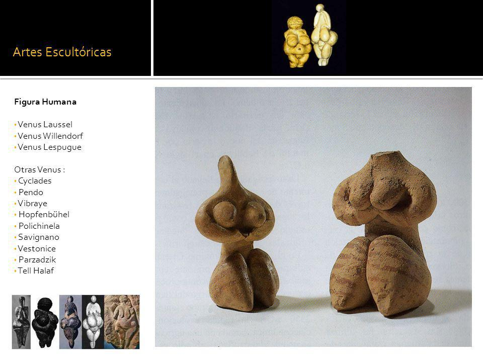 Artes Escultóricas Figura Humana Venus Laussel Venus Willendorf Venus Lespugue Otras Venus : Cyclades Pendo Vibraye Hopfenbühel Polichinela Savignano