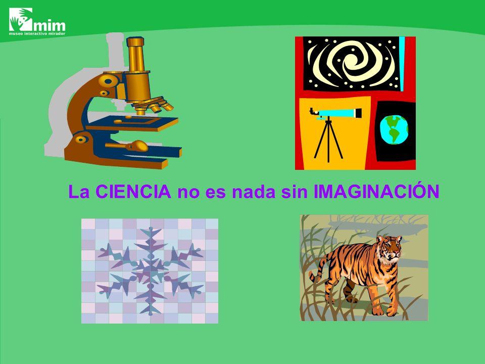La CIENCIA no es nada sin IMAGINACIÓN