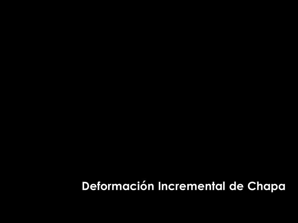 Deformación Incremental de Chapa